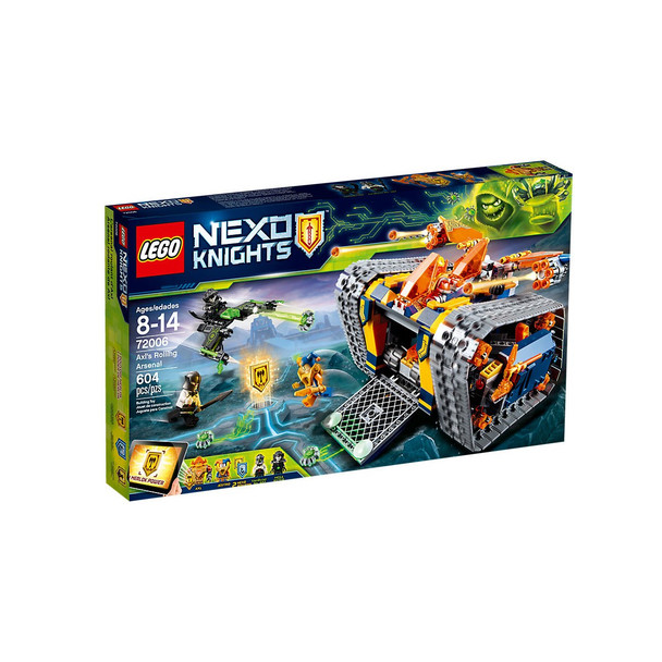 Lego Nexo Knights 72006 Axl's Rolling Arsenal
