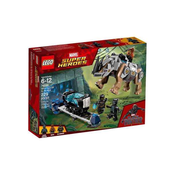 Lego Marvel Super Heroes 76099 Rhino Face-Off by the Mine