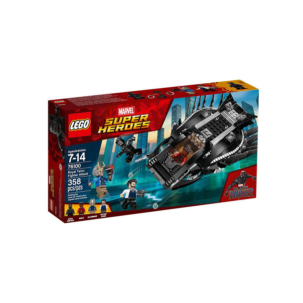 Lego Black Panther Marvel Super Heroes 76100 Royal Talon Fighter Attack