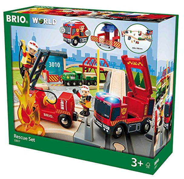 BRIO Rescue Fire Rescue Deluxe Set
