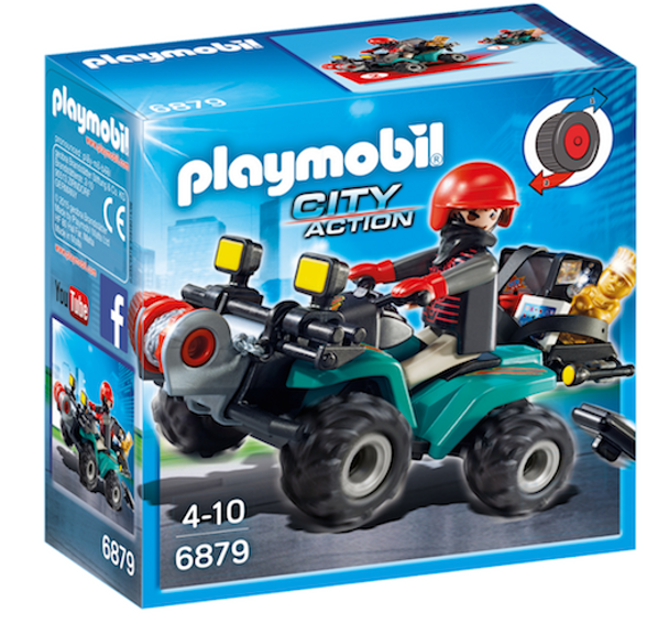 Playmobil 6879 Robbers Quad with Loot