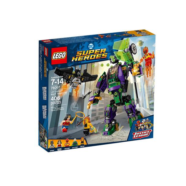 Lego DC Super Heroes 76097 Lex Luthor Mech Takedown