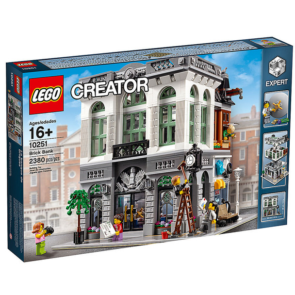 Lego Creater 10251 Brick Bank