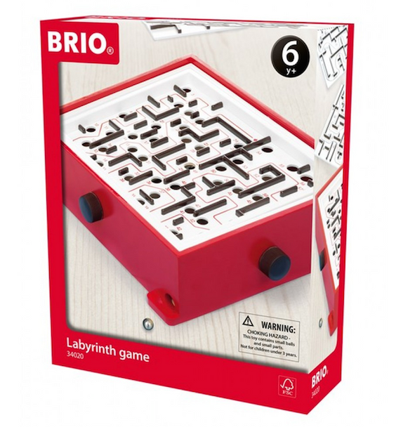 BRIO Labyrinth Game and Boards Red