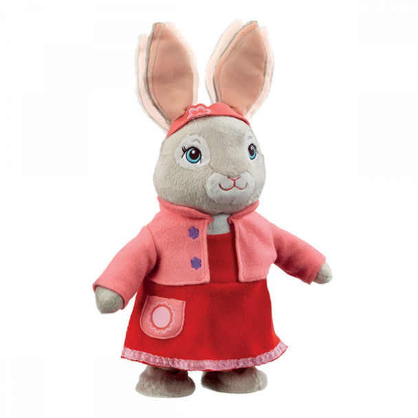 Talking & Hopping Lily Bobtail Plush