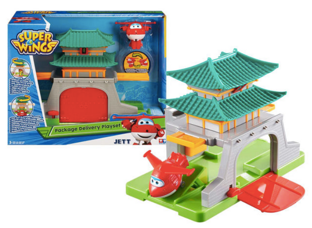Super Wings Package Delivery to Seoul Playset