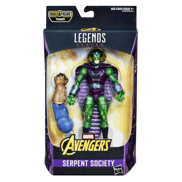 Avengers Marvel Legends Series 6-inch Serpent Society