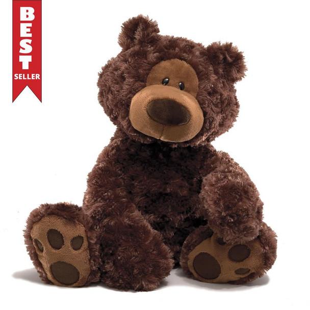 GUND Philbin Chocolate Bear - 33cm