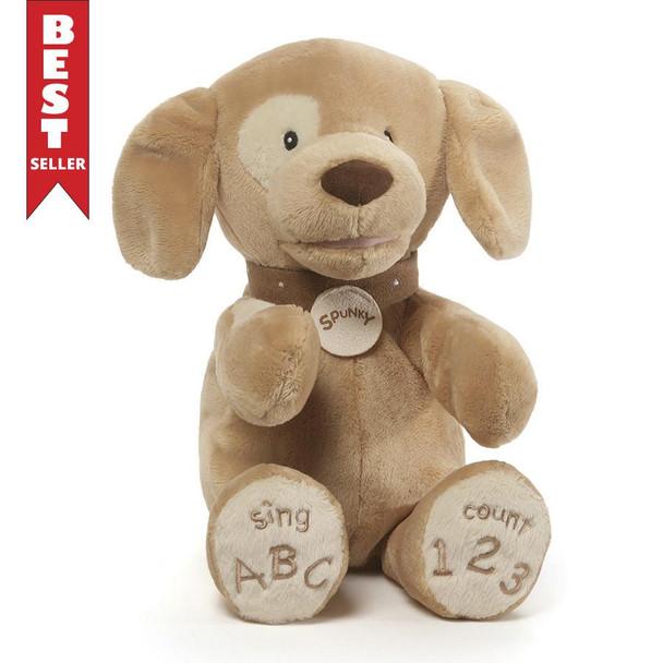 GUND Spunky Tan ABC 123 Dog