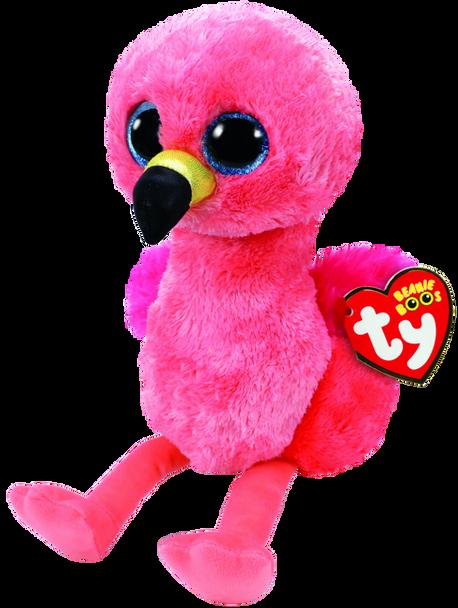 TY Beanie Boos Medium Gilda the Pink Flamingo - 23cm