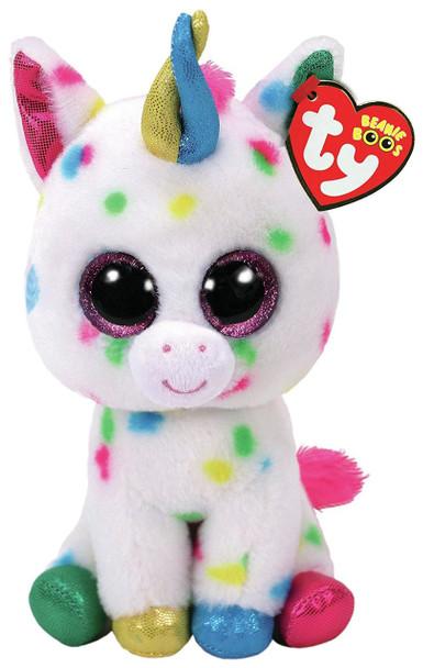 TY Beanie Boos Medium Harmonie the Speckled Unicorn - 23cm