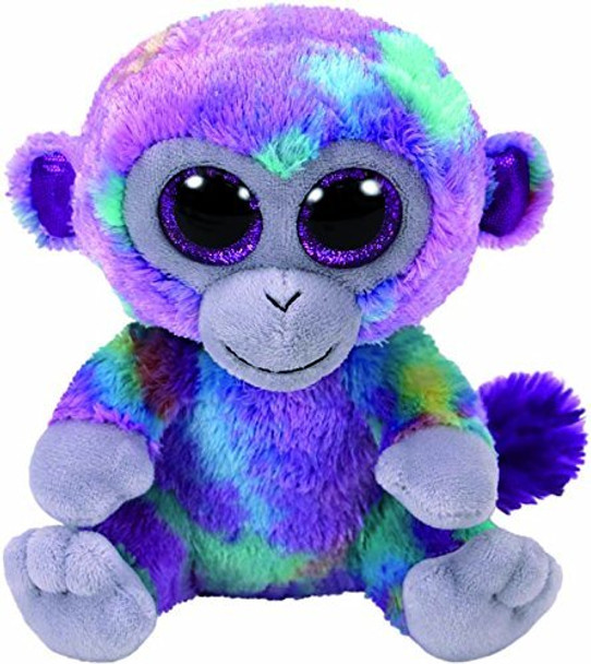 TY Beanie Boos Medium Zuri the Multicoloured Monkey - 23cm