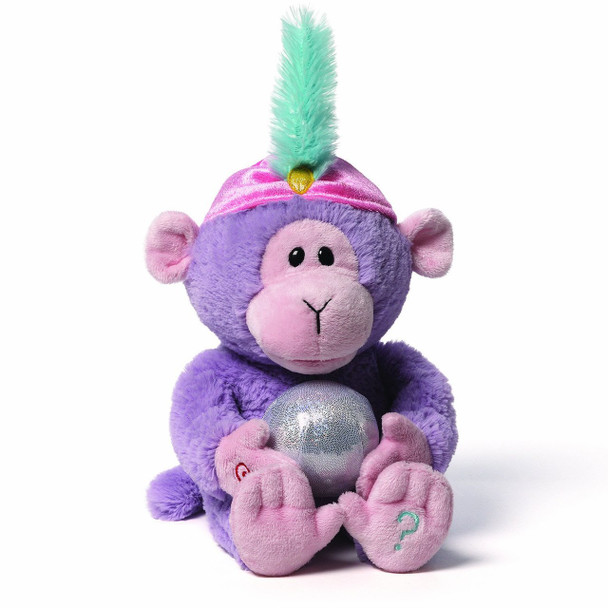 GUND Fortune Monkey Interactive Plush - 28cm