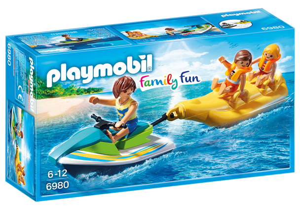 Playmobil Jetski with Banana Boat 6980