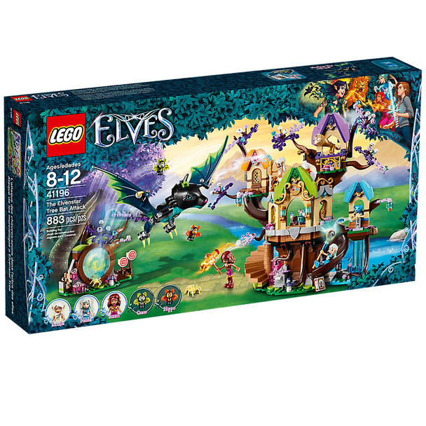 Lego Elves 41196 The Elvenstar Tree Bat Attack