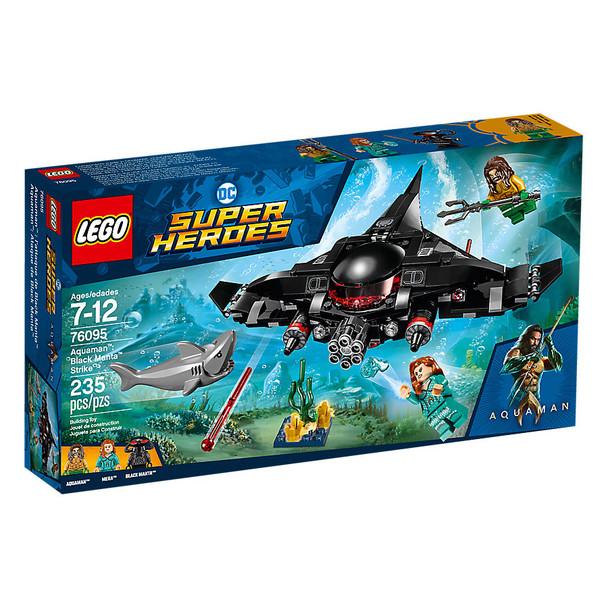 Lego DC Comics Super Heroes 76095 Aquaman: Black Manta Strike