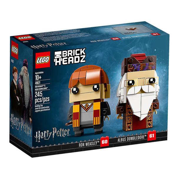 Lego Brick Headz 41621 Ron Weasley & Albus Dumbledore