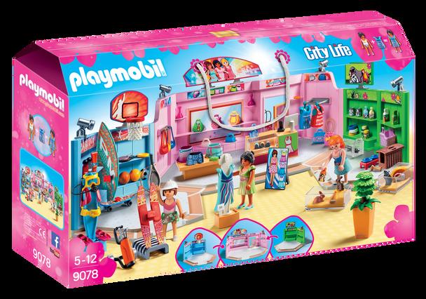 Playmobil Shopping Plaza 9078