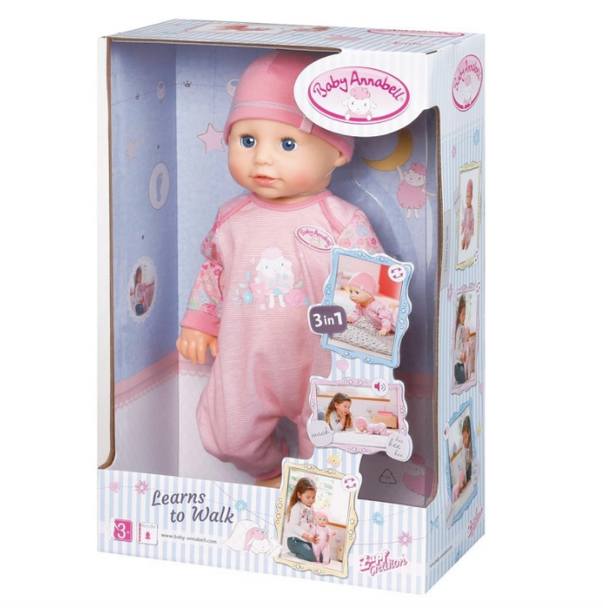 Baby Annabell Learns to Walk by Zapf Creations