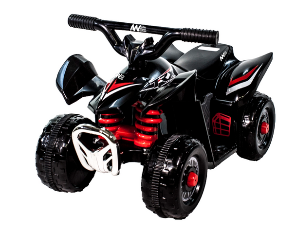 TRX Electric Ride-On Mini Quad Bike ATV Style6 Volt Ride On Black