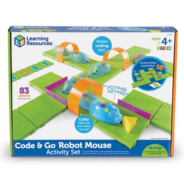 Code & Go™ Robot Mouse Activity Set