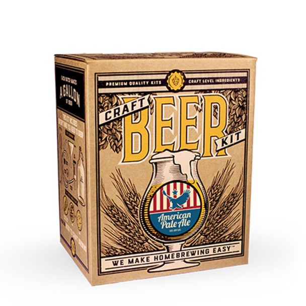 Craft A Brew – American Pale Ale Beer Brewing Kit
