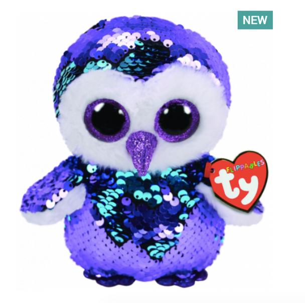 TY Flippables 36269 Moonlight Owl Regular - 18cm