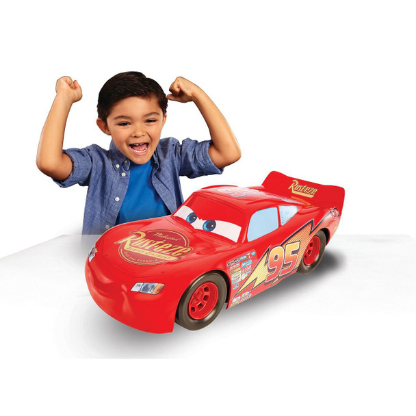 Disney•Pixar Cars 3 Lightning McQueen 20-Inch Vehicle by Mattel