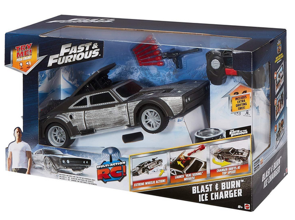 Fast & Furious™ Blast & Burn™ Ice Charger RC Car by Mattel