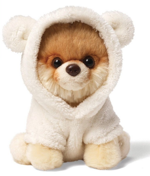 Boo - The World's Cutest Dog Itty Bitty Boo Bear Suit by Gund