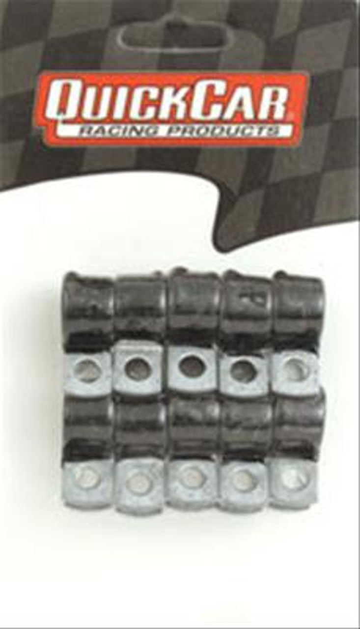 QuickCar Rubber Coated Line Clamps 66-854