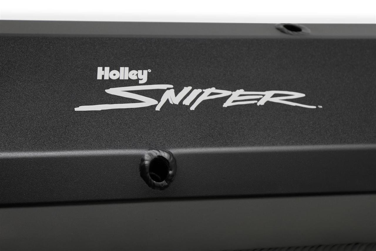 Holley Sniper Fabricated Aluminum Valve Covers 890003B