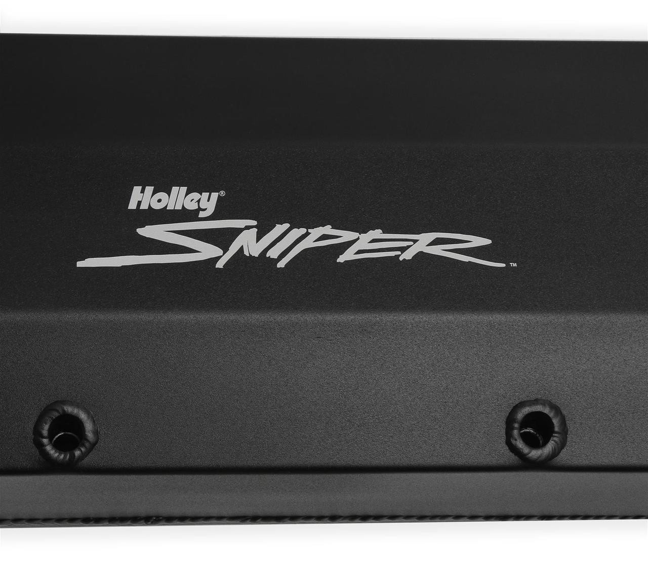 Holley Sniper Fabricated Aluminum Valve Covers 890007B