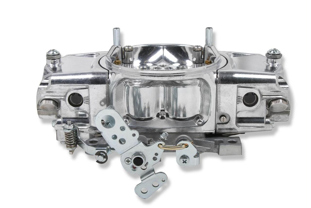 Demon Carburetion Screamin' Demon Carburetors SDA-750-MS FREE SHIPPING, 750 cfm, Mechanical Secondary, 4-Barrel, Dual Inlet, Silver, Downleg Boosters