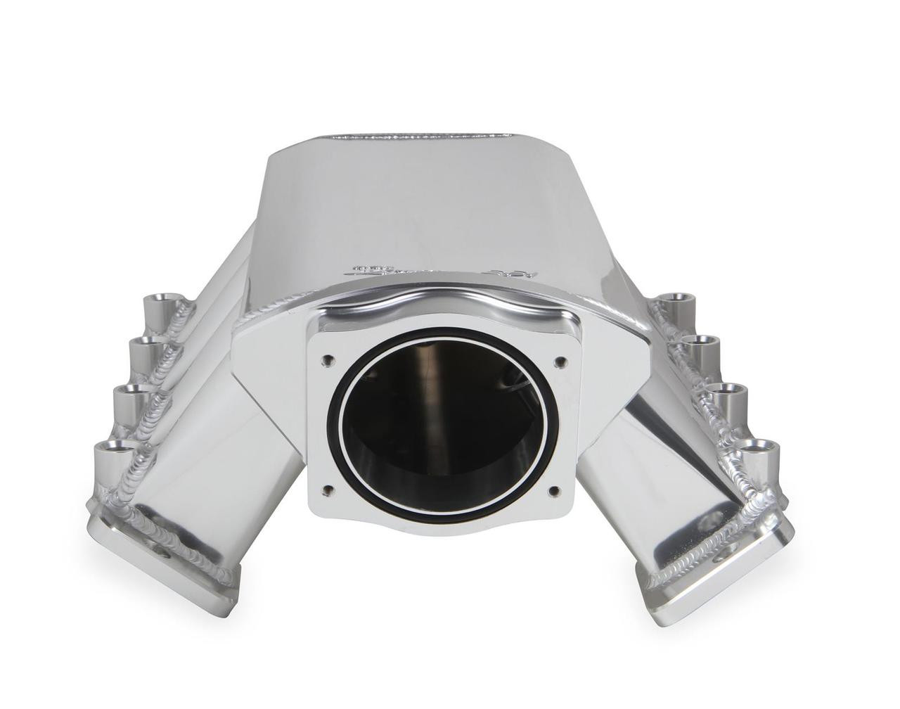 Holley Sniper EFI Fabricated Intake 102mm Throttle Body LS1 LS2 LS6 820041 (FRONT VIEW)
