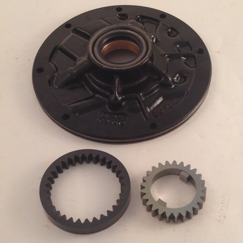 BTE Powerglide Transmission GM Front Pump Half with Oversize Gears Coated FRONT VIEW TRN2435C