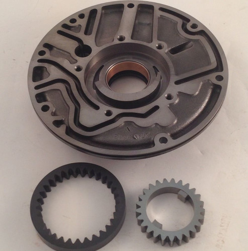 BTE Powerglide Transmission GM Front Pump Half with Oversize Gears Coated BACK VIEW TRN2435C
