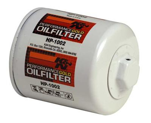 K&N Performance Gold Oil Filters HP-1002