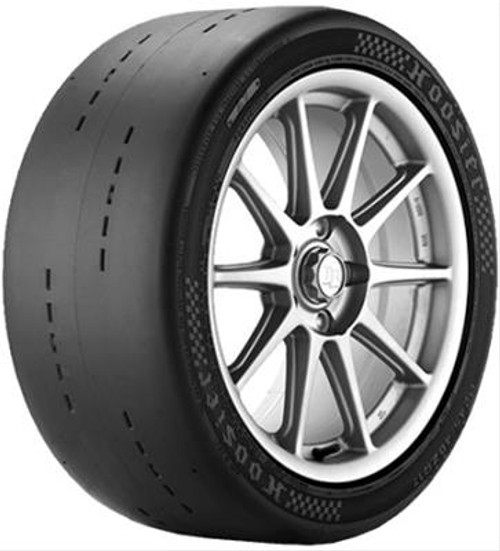 Hoosier Sports Car DOT Radial Tire,  A7, Autocross, P345/35ZR18, Blackwall 46855A7 - Image is a representation of this item. Actual item may vary