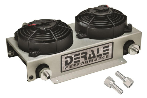 Derale Cooling Products Hyper-Cool Remote Fluid Coolers with Fan Kits 13740