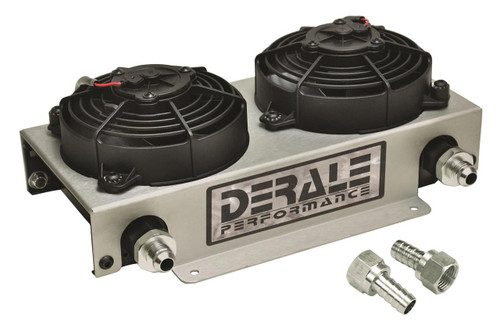 Derale Cooling Products Hyper-Cool Remote Fluid Coolers with Fan Kits 15840