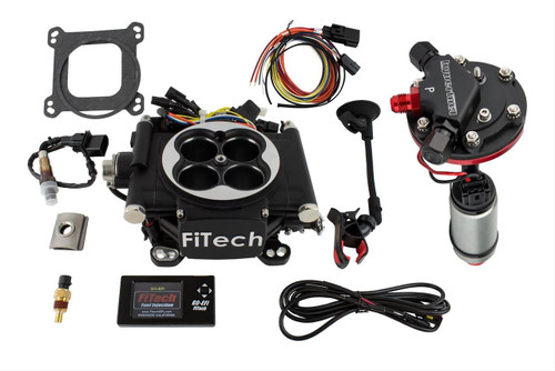 FiTech Fuel Injection Go EFI 4 600 HP Self-Tuning Fuel Injection Systems with Hy-Fuel In-Tank Retrofit Modules 38002