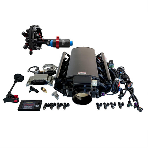 FiTech Fuel Injection Ultimate LS EFI 500 HP Fuel Injection Systems with Hy-Fuel 74002