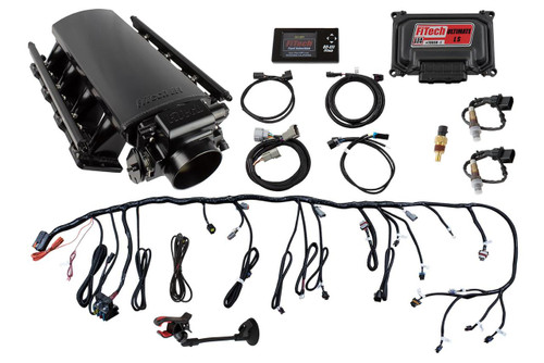 FiTech Fuel Injection Ultimate LS EFI 750 HP Fuel Injection Systems with Hy-Fuel 74003