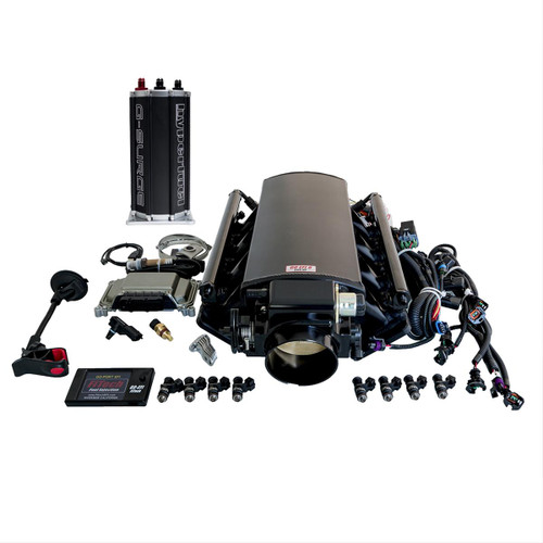 FiTech Fuel Injection Ultimate LS EFI 750 HP Fuel Injection Systems with G-Surge 73004