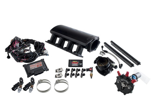 FiTech Fuel Injection Ultimate LS EFI 750 HP Fuel Injection Systems with Hy-Fuel 74004