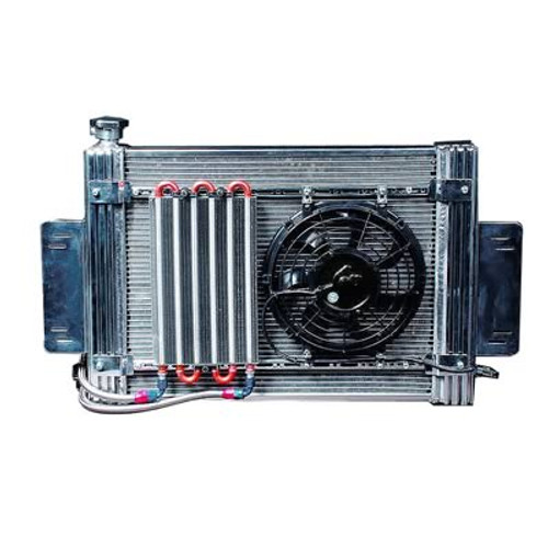 Flex-a-lite Aluminum Radiator and Fan Kits 52180R
