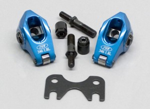 PRW Pro Series Aluminum Rocker Arm System - GM LS1 5.7L 1997-2008, 1.8  Ratio 3/8? Stud 0334619