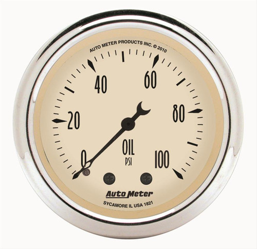 AutoMeter Auto Meter Antique Beige Analog Gauges 1821