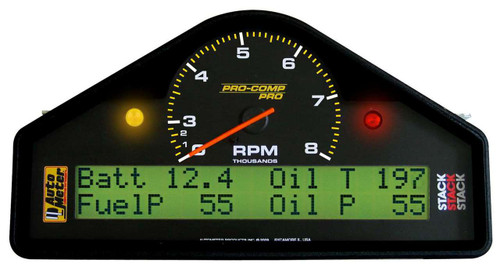 AutoMeter Auto Meter Pro-Comp Pro Dash Display Systems 6012